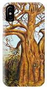 Baobab Tree IPhone Case