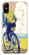 Boadwalk Bike IPhone Case