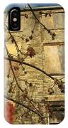 Boarded Windows And Branches IPhone Case