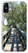 Boardwalk At Tifft Nature Preserve Buffalo New York IPhone Case
