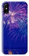 Boardwalk Fireworks IPhone Case