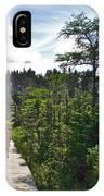 Boardwalk In Salmonier Nature Park-nl IPhone Case