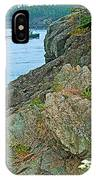 Boat By East Quoddy Bay On Campobello Island-nb IPhone Case