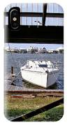 Boat View Under The Stairway IPhone Case