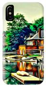 Boathouse Color IPhone Case