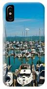 Boats At Bay IPhone Case