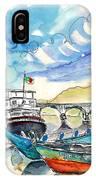 Boats In Barca De Alva 02 IPhone Case