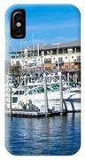 Boats In Port 5 IPhone Case