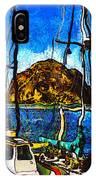 Boats Of Morro Bay IPhone Case