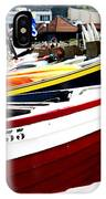 Boats On A French Beach IPhone Case