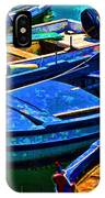 Boats Snuggling - Sicily IPhone Case