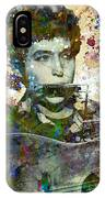 Bob Dylan Original Painting Print IPhone Case