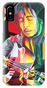Bob Marley And Rasta Lion IPhone Case