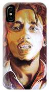 Bob Marley Earth Tones IPhone Case