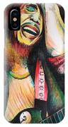 Bob Marley In Agony IPhone Case