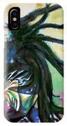 Bob Marley Singing Portrait.1 IPhone Case