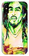 Bob Marley Watercolor Portrait.9 IPhone Case