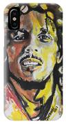 Bob Marley 01 IPhone Case