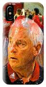 Bobby Knight Indiana Legend IPhone Case