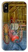 Bodie Fire Dept Water Pumper Img 7310 IPhone Case