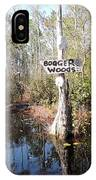 Bogger Woods IPhone Case