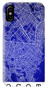 Bogota Street Map - Bogota Colombia Road Map Art On Colored Back IPhone Case