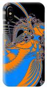 Bold Energy Abstract Digital Art Prints IPhone Case