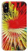 Bold Floral Hat Abstract IPhone Case