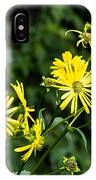 Bold Yellow Flowers IPhone X Case