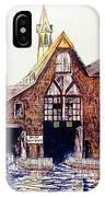 Boldt Castle Boat House IPhone Case