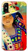 Bolivian Child IPhone Case