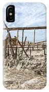Bombay Beach Ruins IPhone Case
