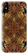 Bone Tapestry IPhone Case