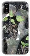 Bones On The Forest Floor IPhone Case