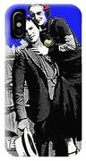 Bonnie And Clyde March 1933 1932 Ford V-8 B-400 Convertible Sedan 1933-2013 IPhone Case