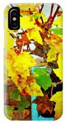 Bonsai Tree With Yellow Leaves IPhone Case