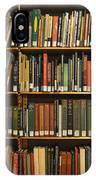 Bookshelves IPhone Case
