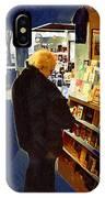 Bookstore Dreamer IPhone Case