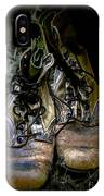 Boots That Grunt  IPhone Case