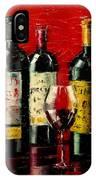 Bordeaux Collection IPhone Case