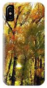 Bordering The Elk River IPhone Case