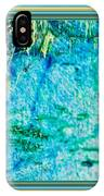 Borderized Abstract Ocean Print IPhone Case