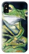 Boreal Flyer Tree Frog IPhone Case