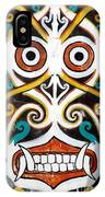 Borneo Shield Ornaments  IPhone Case