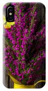 Boronia With Yellow Butterfly IPhone Case