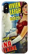 Borzoi Art - Anna Karenine Movie Poster IPhone Case