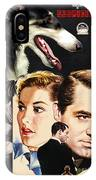 Borzoi Art - Suspicion Movie Poster IPhone Case