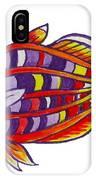 Boseman's Rainbowfish IPhone Case