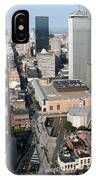 Boston Back Bay IPhone Case