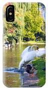 Boston Common Swan Lake IPhone Case